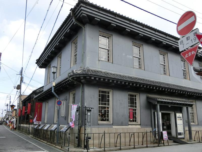 黒壁銀行(現在は黒壁ガラス館)の画像