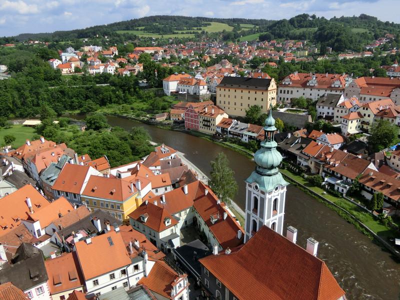 塔から見た街並みの画像