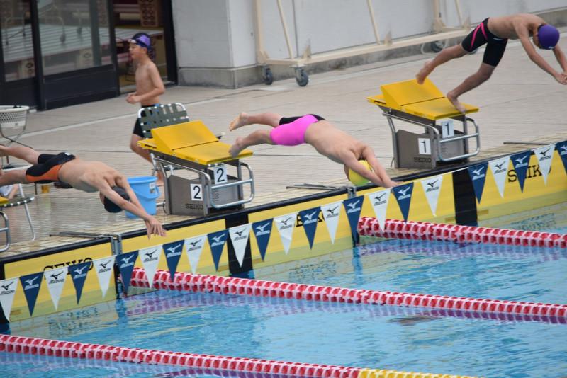 水泳大会のイメージ画像