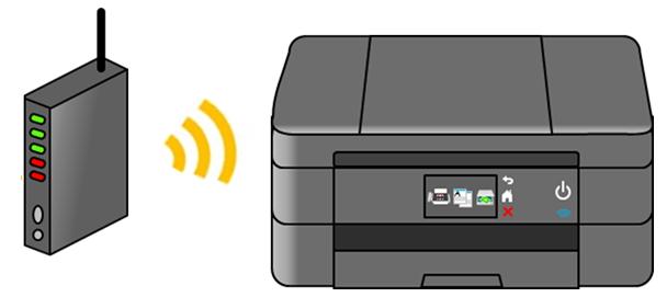 無線LAN接続のイメージ画像
