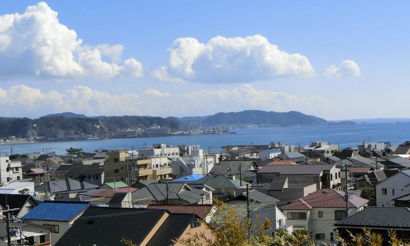 見晴台から海側を見た画像