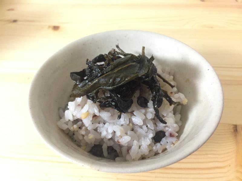 茶殻の佃煮の画像