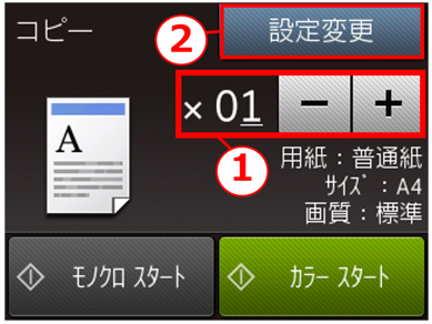 手順3の画像