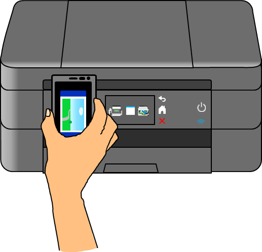 NFC通信の例